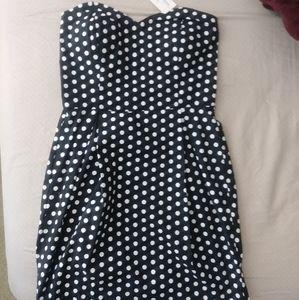 Black and White Polka Dot Dress NWT